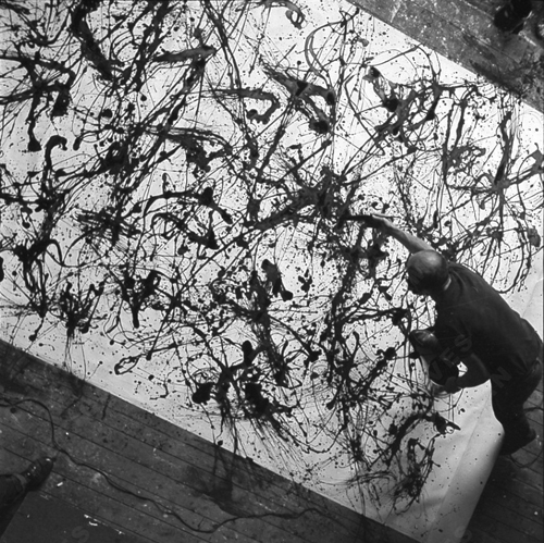 5 K Action Painting Jackson Pollock - Lessons - Tes Teach